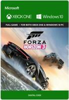 Forza Horizon 3 - Full Game Download Key Card for Xbox One and Win10 PC