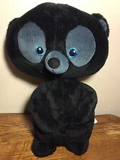DISNEY Store Original BRAVE Hubert Black Bear Cub Boy Brother Plush Merida 15""