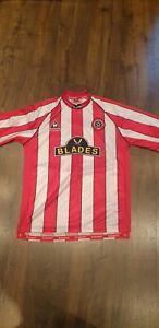 Vintage Sheffield United Home Shirt