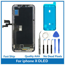 iPhone X Replacement 3D Touch Screen OLED Digitizer Display Assembly with Tools
