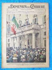 La Domenica del Corriere 15 maggio 1921 Umberto II - Guastalla - Luigi Secchi