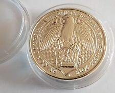 2oz (OUNCE) FINE 999 SILVER 2019 QUEENS BEAST FALCON COIN NEW WITH CAPSULE