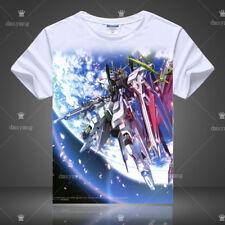 Anime Gundam Seed Freedom  T-shirt Short Sleeve Unisex TEE Cosplay S-3XL#3-313