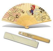 Official Club Nintendo Japan Super Mario Bros Mario Sensu (Japanese folding fan)