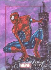 2014 RA Marvel 75th Anniversary Jomar Bulda SketchaFEX Sketch Card Of Spider-Man