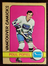 1972-73 OPC O-Pee-Chee Hockey #67 Poul Popiel Vancouver Canucks