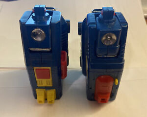 Vintage 1980s DAIRUGGER Matchbox Vehicle Voltron #3 & 4 Leg Parts Made In Taiwan