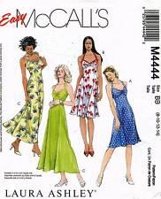McCall's Misses' Petite Dress Laura Ashley Pattern M4444 Size 8-14 UNCUT