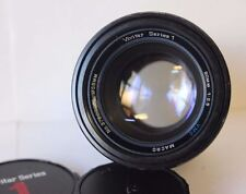 Vivitar Fixed/Prime Manual Macro/Close Up Camera Lenses