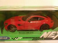Mercedes AMG GT R - Red 1/24 Welly, Classic, Metal, Model Car
