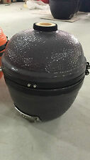 YNNI 14 inch Bespoke Grey Kamado Oven BBQ Grill Egg with Stand TQ0014GY