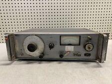 Vintage Hp 653a Test Oscillator Rare Ham Equipment Untested Diy Builder