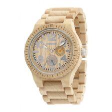 Orologio in legno WeWood - KARDO Beige Wood Watch