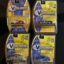 Jada Toys 1:64 V Dub$ Volkswagen Karman Ghia Lot 2006-07