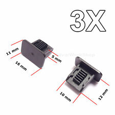 3X Headlining Roof Lining Clips, Retaines Trim, Liner for VW, Audi, Seat, Skoda