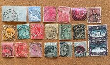 BRITISH AFRICA 1900-53 POSTMARKS ON STAMPS WITH GOLD COAST S.AFRICA,NIGERIA (32)