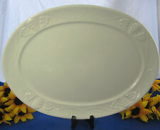 """Red Cliff China GRAPE & Vine Oval Serving Platter 15 1/2"""""""