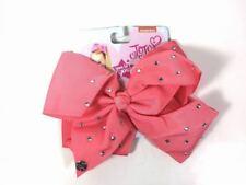 JoJo Siwa Signature Collection Hair Bow Light Pink All Over Rhinestone-BIG BOW