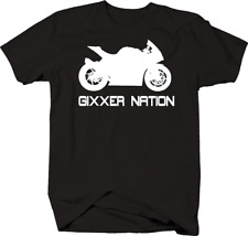 Gixxer Nation Sport Bike Racing GSXR T Shirt