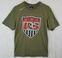 Nike US TEAM USA Soccer Football Shield Mens Medium T Shirt