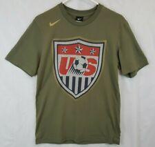 Nike US TEAM USA Soccer Football Shield Mens Medium T Shirt