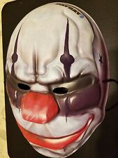 Official E3 Promo Payday 2 Joker Clown Mask - New