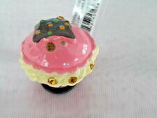 Kid's Jibbitz 3D Creamy Sweets MACARON Shoe Charms, Pink. NEW
