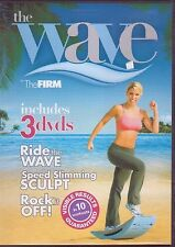 The FIRM - THE WAVE (DVD SET) Ride, Speed Skimming Sculpt & Rock it Off workouts