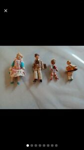 Vintage Grecon Family Dolls