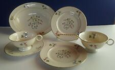 "Theadore Haviland  China ""Festival"" pattern Six Pieces"