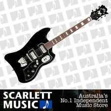 Guild S-200 T-Bird Gloss Black Electric Guitar w' Trem/Gigbag *BRAND NEW*