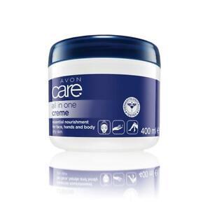 Avon Care All in One Body Moisturising Cream Face, Hands & Body 400ml Large Tub