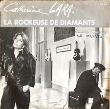 """Catherine Lara - La Rockeuse De Diamants - Vinyl 7"""" 45T (Single)"""