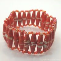 Maasai Market Africa Handmade Jewelry Recycled Paper Masai Bead Bracelet 665-28