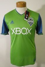 NWT Adidas Seattle Sounders FC 2017 Primary Authentic Jersey 2XL Rave Green $120
