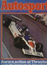 Autosport May 29th 1980 *Alfa Romeo Alfetta GTV Turbo*