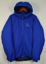 Arcteryx Atom SV Mens Hoody Jacket Blue XL