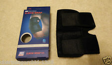 Elbow Wrap Brace Support Compression Adjustable One Size