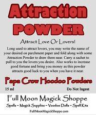 Attraction Powder Voodoo Hoodoo Ritual Dust Brings Love Lovers Romance Sex Mate