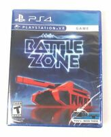 NEW BattleZone Sony PlayStation VR 4 PS4 Video Game SEALED