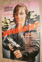 A0 Filmplakat  SUPERMARKT, CHARLY WIERZEIJEWSKI,EVA MATTES v.ROLAND KLICK