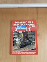 Detailing Tips And Techniques Model Railroader Handbook Pre-Owned