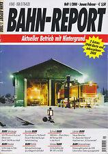 Bahn Report Heft 1/2008 Januar Februar 2008 mit ÖPNV-Karte + Jahresplaner 2008