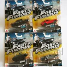 Mattel 1/55 Diecast Cars Fast & Furious Set of 4 - Free Shipping