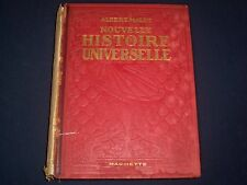 1924 NOUVELLE HISTOIRE UNIVERSELLE BY ALBERT MALET FRENCH VOLUME - KD 2964