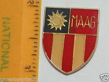 Hat Lapel Push Tie Tac Pin MAAG Formosa NEW