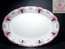 "STANLEY POTTERY SWINDON 16⅛"" OVAL SERVING PLATTER 1908"