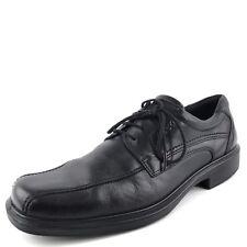 Ecco Black Leather Dress Lace Up Oxfords Men's Size 44 M*