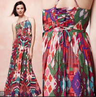 Anthropologie Maeve Tarana maxi dress Size 6P RRP-£168