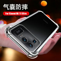 For Xiaomi Mi 11 Ultra, Luxury Shockproof Clear Crystal Soft TPU Case Cover